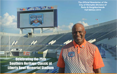 City of Memphis Division of Parks and Neighborhoods Newsletter Recognizes Southern Heritage Classic's 25 Year Milestone